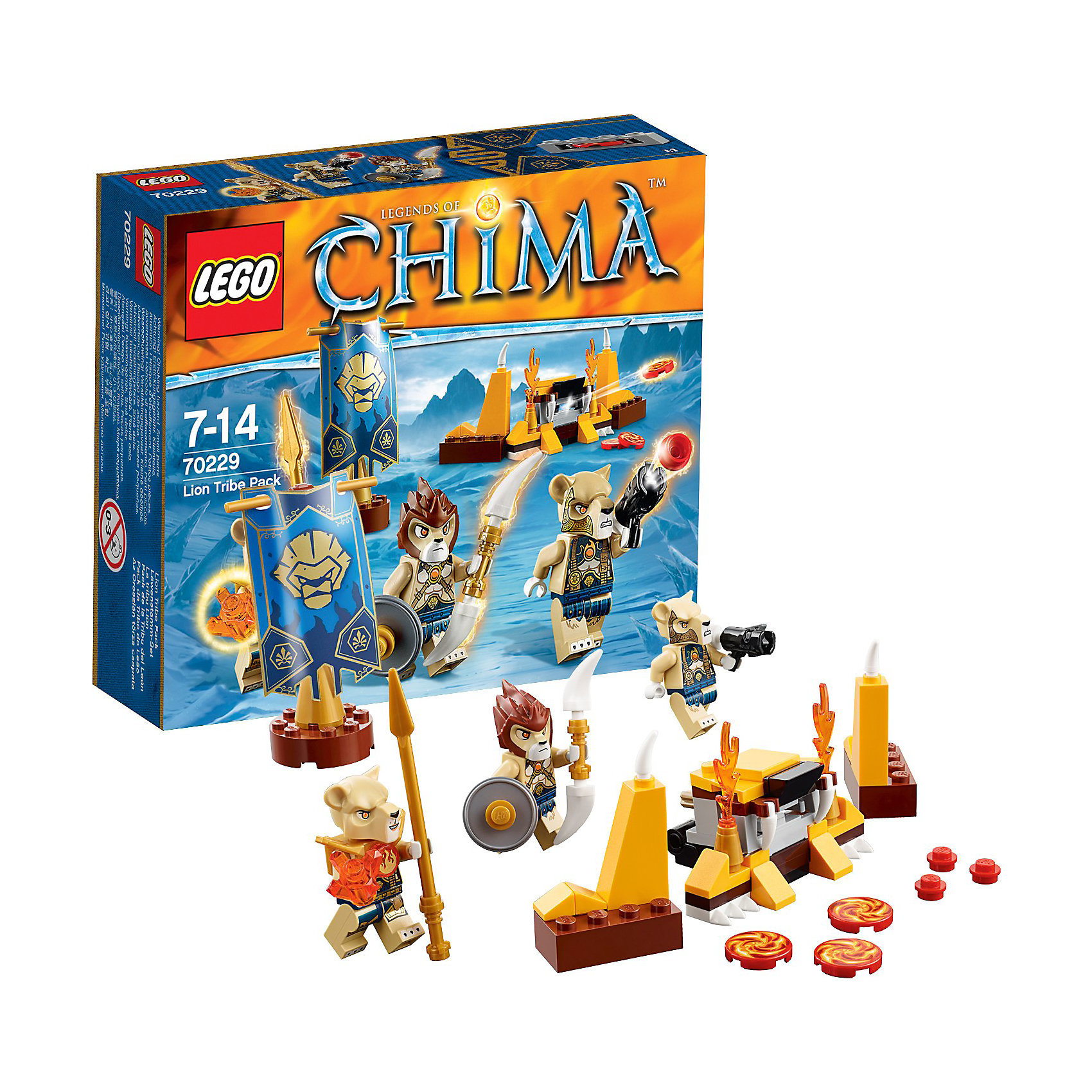 "Конструктор Lego Legends Of Chima ""Лагерь клана Львов"""