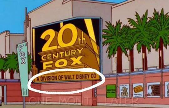 The Walt Disney Company покупает Century Fox